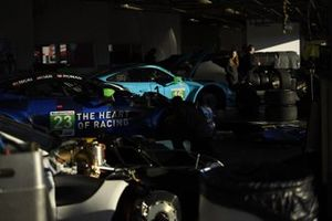 #23 Heart Of Racing Team Aston Martin Vantage GT3, GTD: Roman De Angelis, Nicki Thiim, Ian James, Alex Riberas