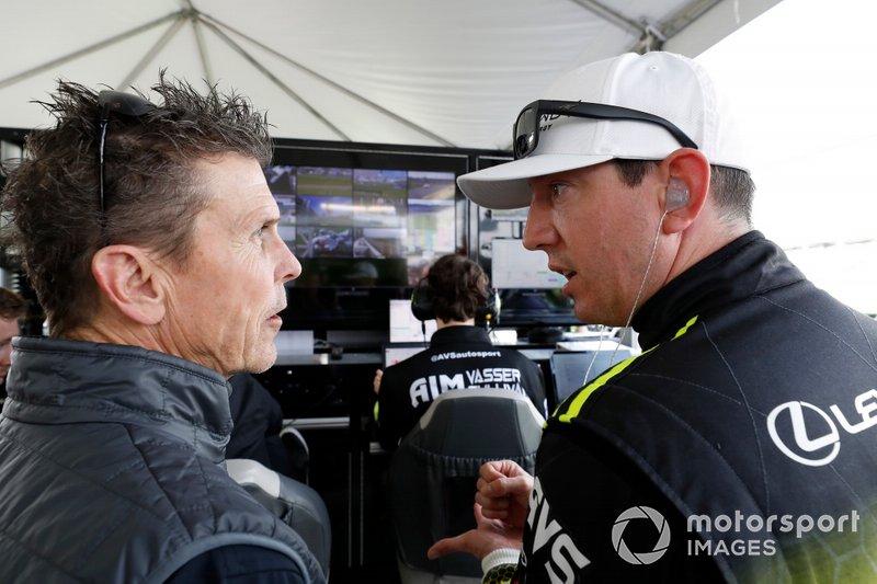 #14 AIM Vasser Sullivan Lexus RC-F GT3, GTD: Scott Pruett, Kyle Busch