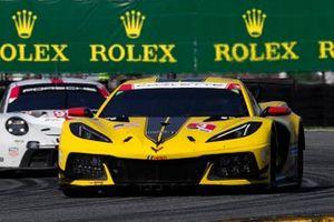 #3 Corvette Racing Corvette C8.R: Antonio Garcia, Jordan Taylor, Nick Catsburg, #912 Porsche GT Team Porsche 911 RSR - 19, GTLM: Laurens Vanthoor, Earl Bamber, Mathieu Jaminet