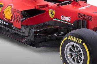 Боковой дефлектор Ferrari SF1000