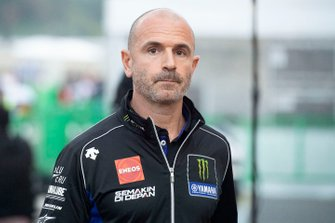 Massimo Meregalli, team manager Yamaha Factory Racing