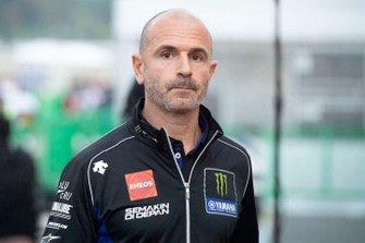 Massimo Meregalli, teammanager Yamaha Factory Racing