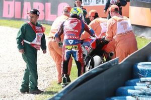 Alvaro Bautista, Team HRC crash