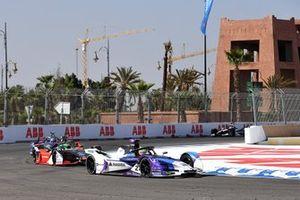 Alexander Sims, BMW I Andretti Motorsports, BMW iFE.20 Lucas Di Grassi, Audi Sport ABT Schaeffler, Audi e-tron FE06, Sam Bird, Virgin Racing, Audi e-tron FE06