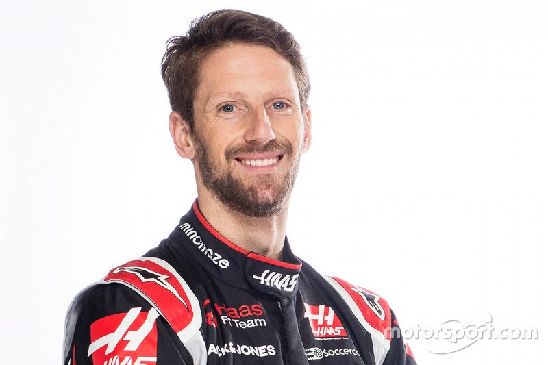 Romain Grosjean: 33 años