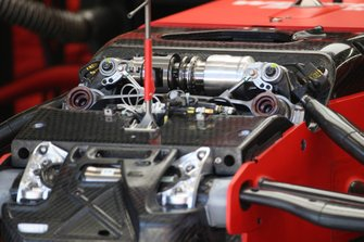 Ferrari SF1000 fronst suspension