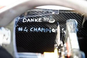 A tribute to Nyck De Vries, ART Grand Prix inside the cockpit of his car