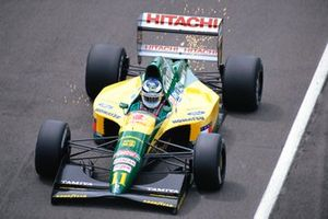 Mika Hakkinen, Lotus 107 Ford, al GP di Gran Bretagna del 1992