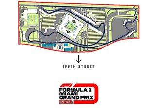 Miami Grand Prix Track Layout