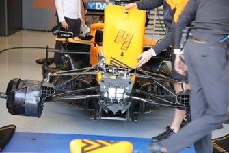 Anteriore McLaren MCL35