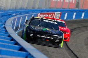 Ross Chastain, Kaulig Racing, Chevrolet Camaro Nutrien Ag Solutions and Justin Allgaier, JR Motorsports, Chevrolet Camaro BRANDT