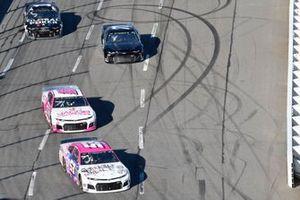 J.J. Yeley, Rick Ware Racing, Chevrolet Camaro GOTTA KILL IT TO HEAL IT, B.J. McLeod, Petty Ware Racing, Ford Mustang JACOB COMPANIES