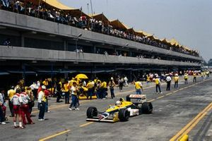 Nigel Mansell, Williams FW12 Judd, al GP del Messico del 1988