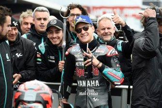 Tweede plaats Fabio Quartararo, Petronas Yamaha SRT