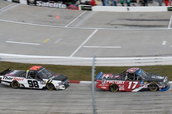 Tyler Ankrum, DGR-Crosley, Toyota Tundra, Grant Enfinger, ThorSport Racing, Ford F-150 Curb Records