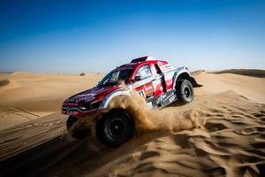Оскар Фуэртес Алданондо и Диего Валлехо, Ssangyong Motorsport / Sodicars Racing, Ssangyong Korando DKR (№341)