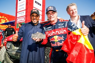 Principe Abdul Aziz bin Turki Al-Faisal, presidente del General Sports Authority, #305 JCW X-Raid Team: Carlos Sainz