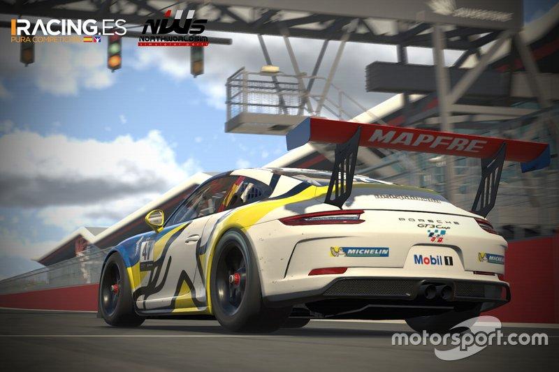 Imagen de la sexta carrera de la ESL MAPFRE Racing