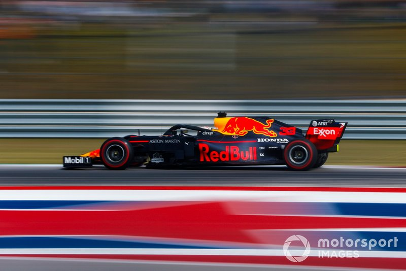 3º: Max Verstappen, Red Bull Racing RB15