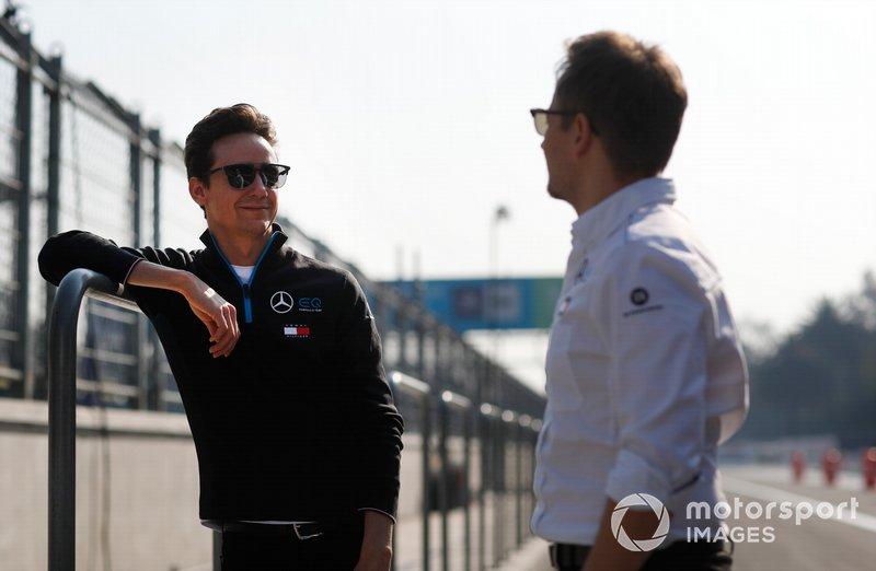 Esteban Gutiérrez, piloto de Reserva de Desarrollo, Mercedes Benz EQ