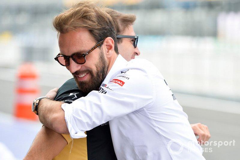 Jean-Eric Vergne, DS Techeetah abbraccia Antonio Felix da Costa, DS Techeetah