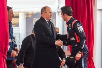 Thierry Neuville, Hyundai Motorsport with Albert II, Prince of Monaco