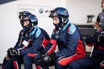 Team of #34 Walkenhorst Motorsport BMW M6 GT3: Augusto Farfus, Nick Catsburg, Chaz Mostert