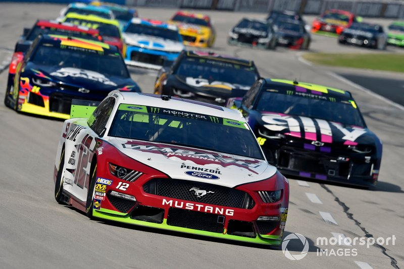 Ryan Blaney, Team Penske, Ford Mustang