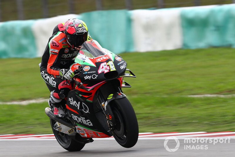 13 - Aleix Espargaro, Aprilia Racing Team Gresini