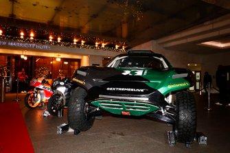 Rally and Moto GP display at the entrance