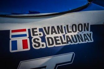 #314 Overdrive Toyota: Erik Van Loon, Sebastien Delaunay, logo detail