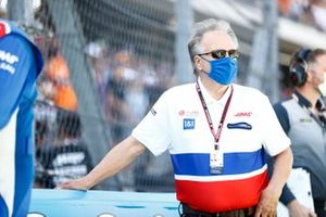 Gene Haas, Owner and Founder, Haas F1, on the grid