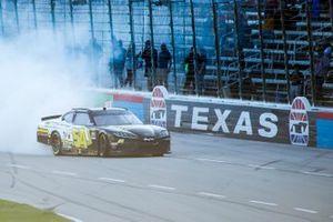 Race winner John Hunter Nemechek, Joe Gibbs Racing, Toyota Supra