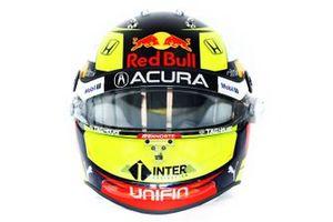 Le casque de Sergio Pérez, Red Bull Racing