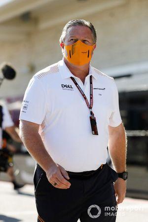 Zak Brown, PDG, Mclaren Racing