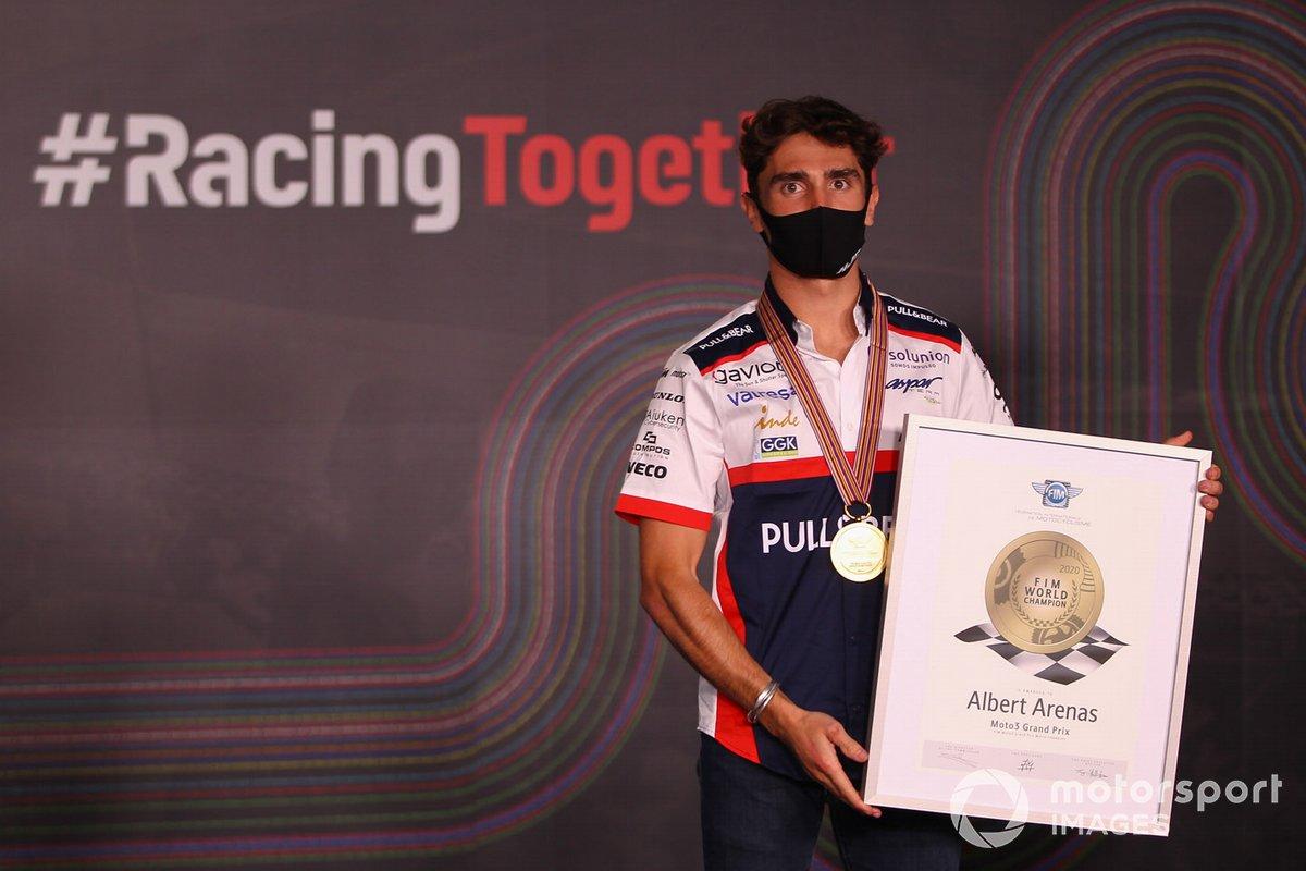 Campeón del mundo 2020 de Moto3, Albert Arenas, Aspar Team
