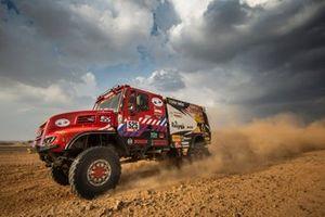 #525 Firemen Dakar Team Iveco: Richard De Groot, Jan Hulsebosch, Markus J Laan