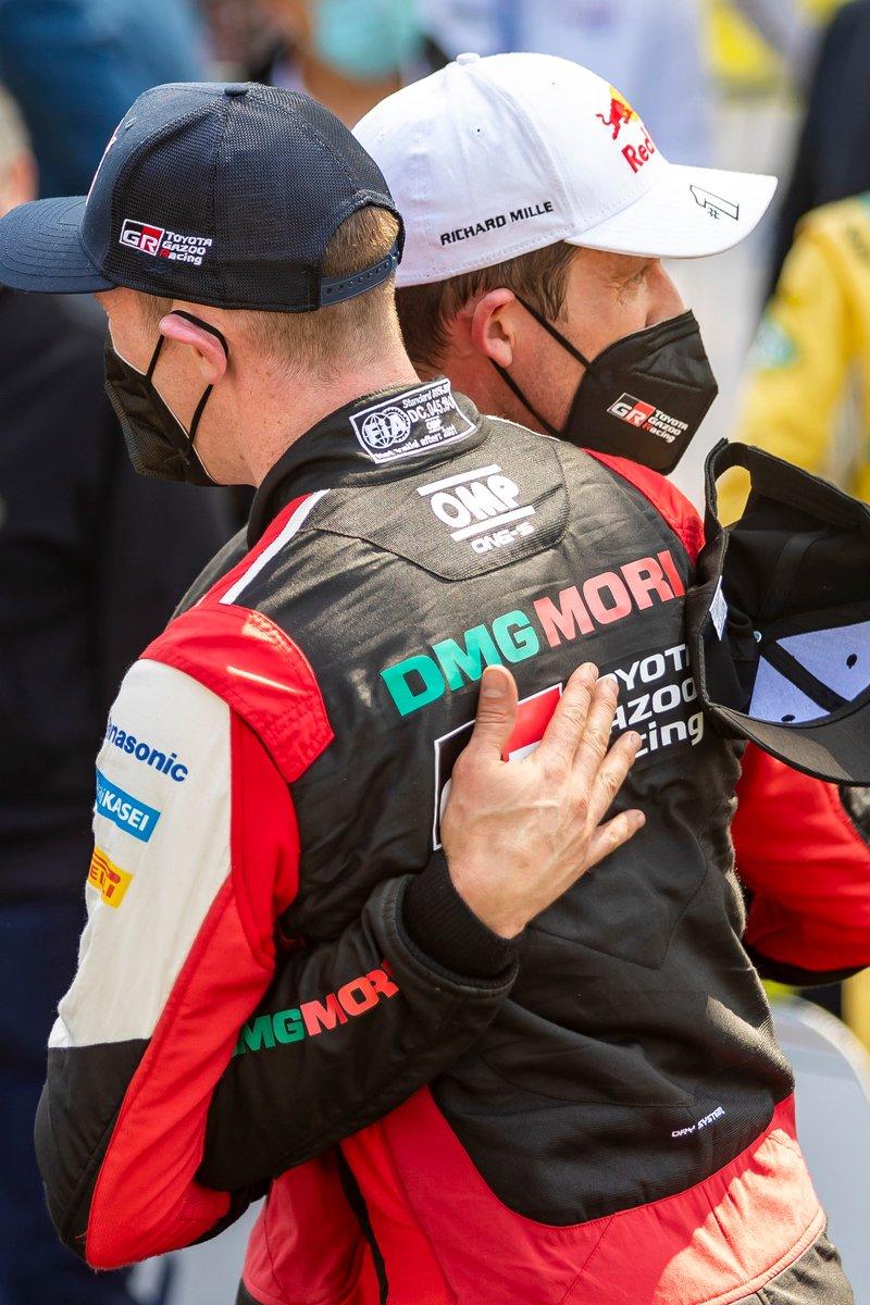 Sébastien Ogier, Toyota Gazoo Racing, Elfyn Evans, Toyota Gazoo Racing
