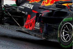 Detail sidepods Red Bull Racing RB16