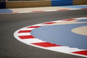 Bahrain F1 track curve