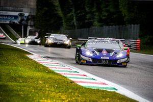 #163 Emil Frey Racing Lamborghini Huracan GT3 Evo: Norbert Siedler, Albert Costa, Giacomo Altoè