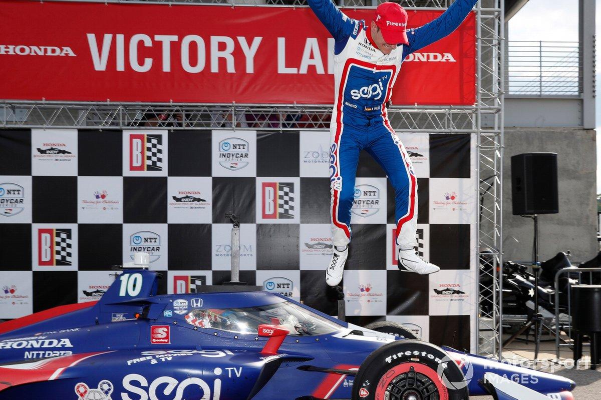Podio: Alex Palou, Chip Ganassi Racing Honda