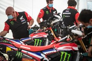 Monteurs van Monster Energy Honda Team