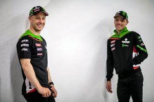Jonathan Rea, Kawasaki Racing Team WorldSBK, Alex Lowes, Kawasaki Racing Team WorldSBK