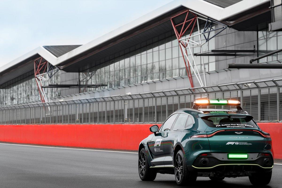 Aston Martin Official Medical Car of Formula One