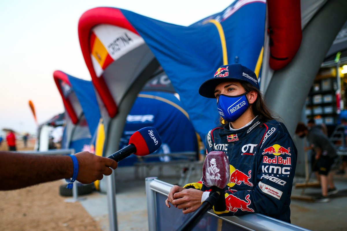 #387 Red Bull Off-Road Team USA OT3: Cristina Gutierrez Herrero