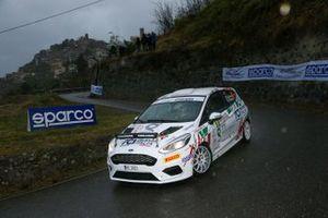 Guglielmo De Nuzzo, Andrea Colapietro, Ford Fiesta Rally4 #88