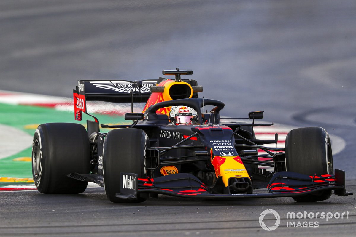 Testacoda di Max Verstappen, Red Bull Racing RB16