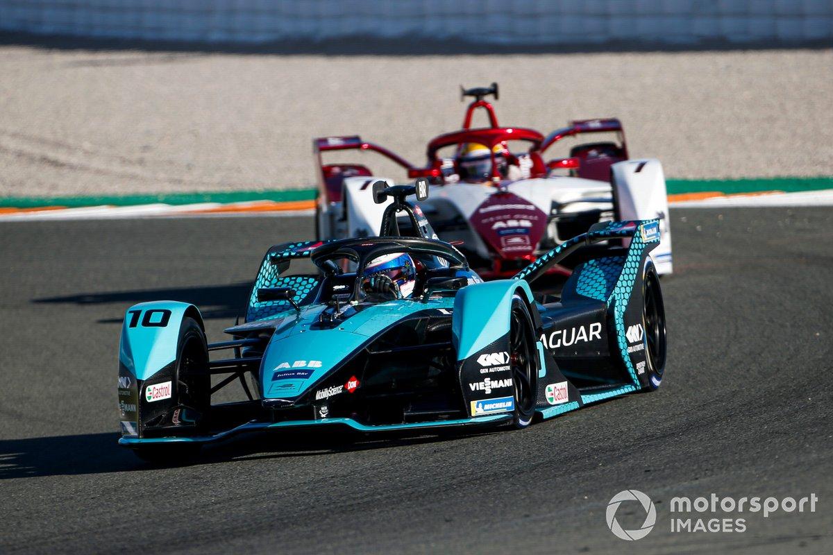 Sam Bird, Panasonic Jaguar Racing, Jaguar I-Type 5, Sergio Sette Camara, Dragon Penske Autosport, Penske EV-4