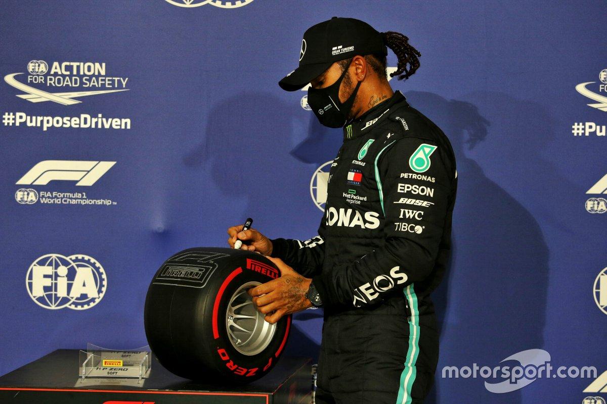 La 98 llegó en el GP de Bahrein, antepenúltima cita de la Fórmula 1 2020